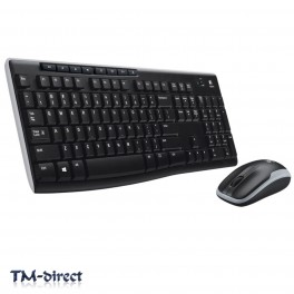 Logitech MK270 Wireless Desktop Kit USB Receiver Up to 10m Keyboard Mouse - 999999999999 - T - 47779