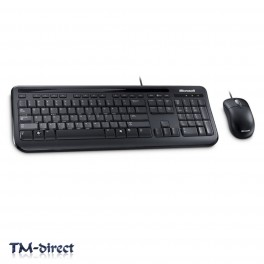 Microsoft 400 Wired Keyboard And Optical Mouse Set USB Desktop PC For Business - 999999999999 - T - 47779