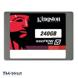 Kingston 240GB SSDNow V300 SATA3 2.5 inch 7MM Solid State Drive 600 MBps Internal - 999999999999 - T - 131553