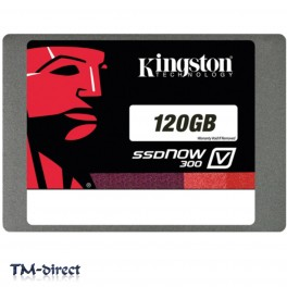 Kingston 120GB SSDNow V300 SATAIII 6Gbps 2.5 inch Up to 450MB/s Read and Write Speed - 999999999999 - T - 131553