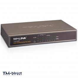 TP LINK TL-SF1008P Desktop PoE Network Switch 8 Ports 10 100 Mbps Fast Ethernet - 999999999999 - T - 51268