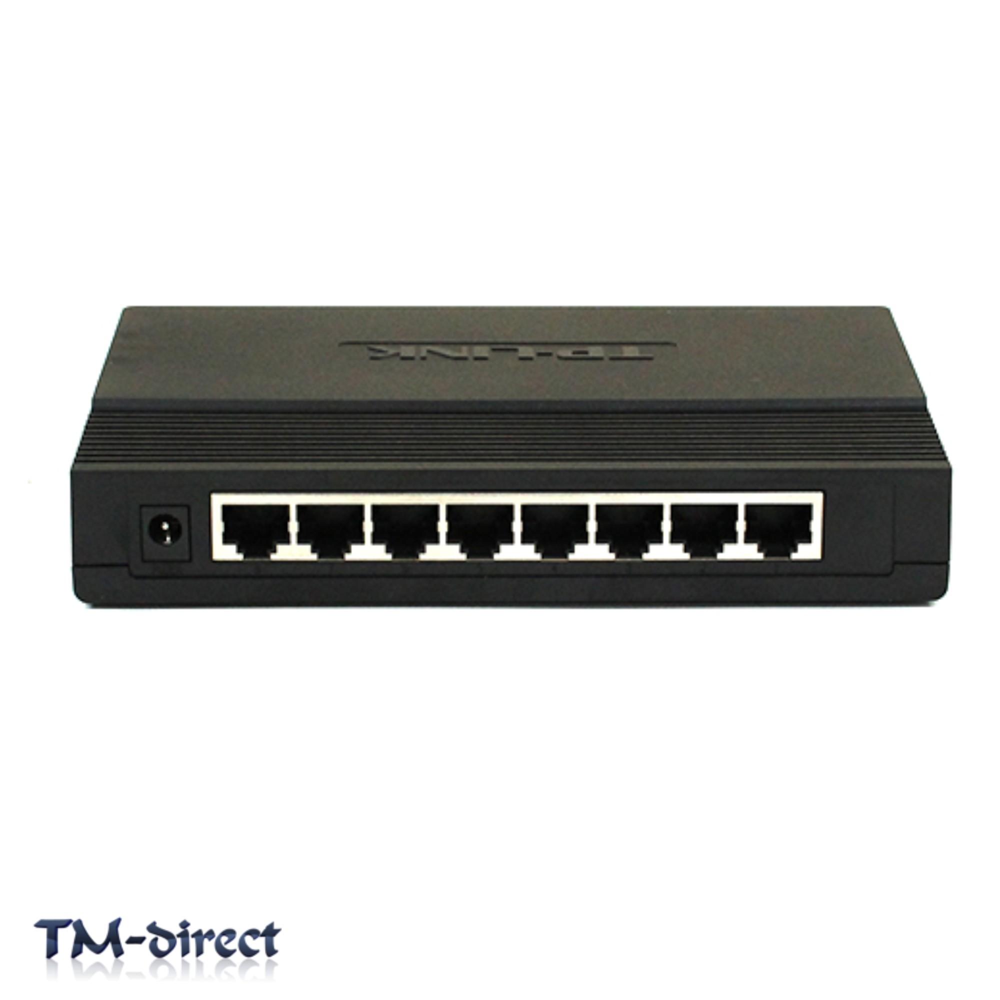 Tp Link Tl Sg1008d Desktop Gigabit Ethernet 8 Port 10 100 1000 Switch