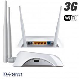 TP-Link TL-MR3420 Desktop Wireless 3G 4-Port Router 300Mbps 802.11b/g/n 2.4GHz - 999999999999 - T - 44995