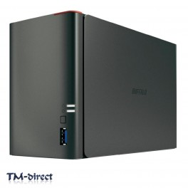 Buffalo LinkStation 421DE 2-Bay Network Attached Storage Diskless Max 8TB - 999999999999 - T - 106273