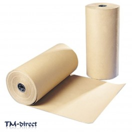 Strong Brown Kraft Wrapping 90 gsm Paper 450 500 600 750 900 mm Thick Roll - 111691427470 - T - 72359