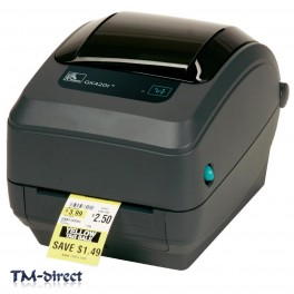 Zebra GX430t Thermal Transfer Lablel Printer 300dpi 8MB SDRAM USB Brand New