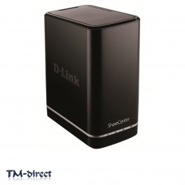 D-Link DNS-320L ShareCenter 2-Bay Cloud Network Storage NAS Server Enclosure