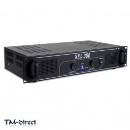 SPL 300W Power Amplifier RCA Aux - Home Audio Hi-Fi Stereo DJ Disco Party PA Amp
