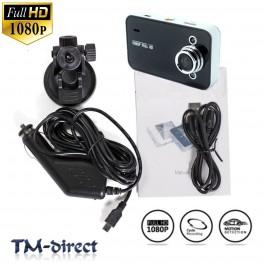 1080 2.4 inch HD In Car DVR Night Vision LRD CCTV TFT Accident Video Camera Recorder