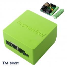 Tinycontrol Lan Remote Control Ethernet Module LAN WAN WEB Server RJ45 Relay