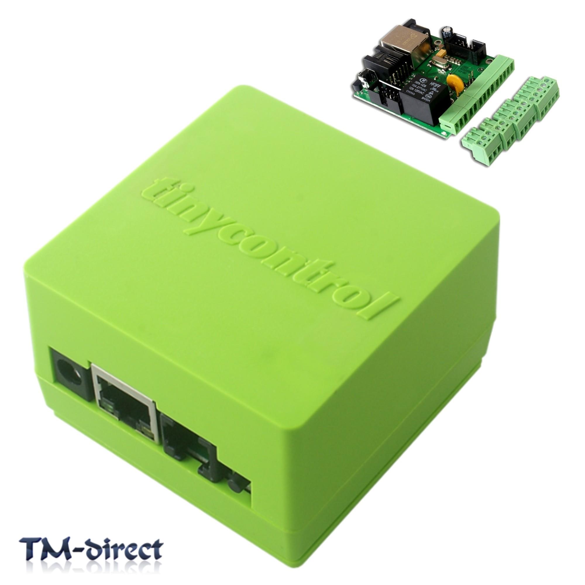 Tinycontrol Lan Remote Control Ethernet Module Lan Wan Web Server Rj Relay on Web Relay 1 0