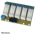 5CH 16A Relays Board For Tinycontrol Lan And GSM Automation Module Remote Relay