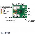 Current Sensor Carrier -15.5A to +15.5A for Tinycontrol GSM Lan Controler