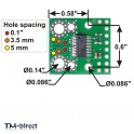 Current Sensor Carrier -75A to +75A for Tinycontrol GSM Lan Controler