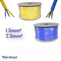 3 Core Round Flex Arctic Grade 1.5 2.5 mm Flexible PCV Cable Ext Caravan Wiring