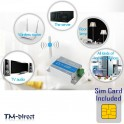 GSM SMS Call Remote Control Relay Smart Switch Home Security Burglar System