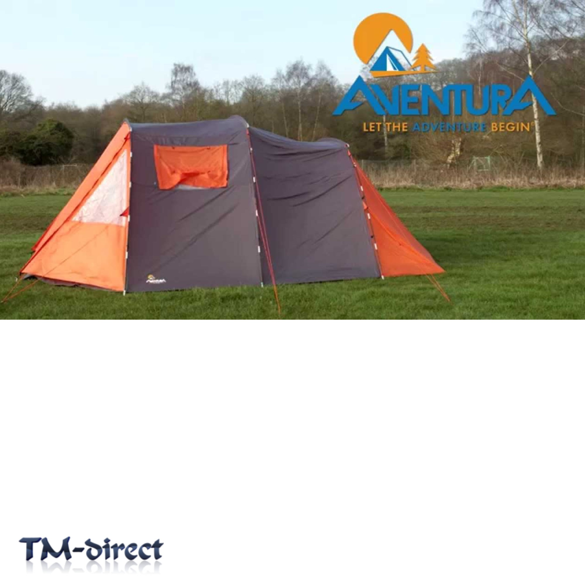 aventura 6 man tunnel tent