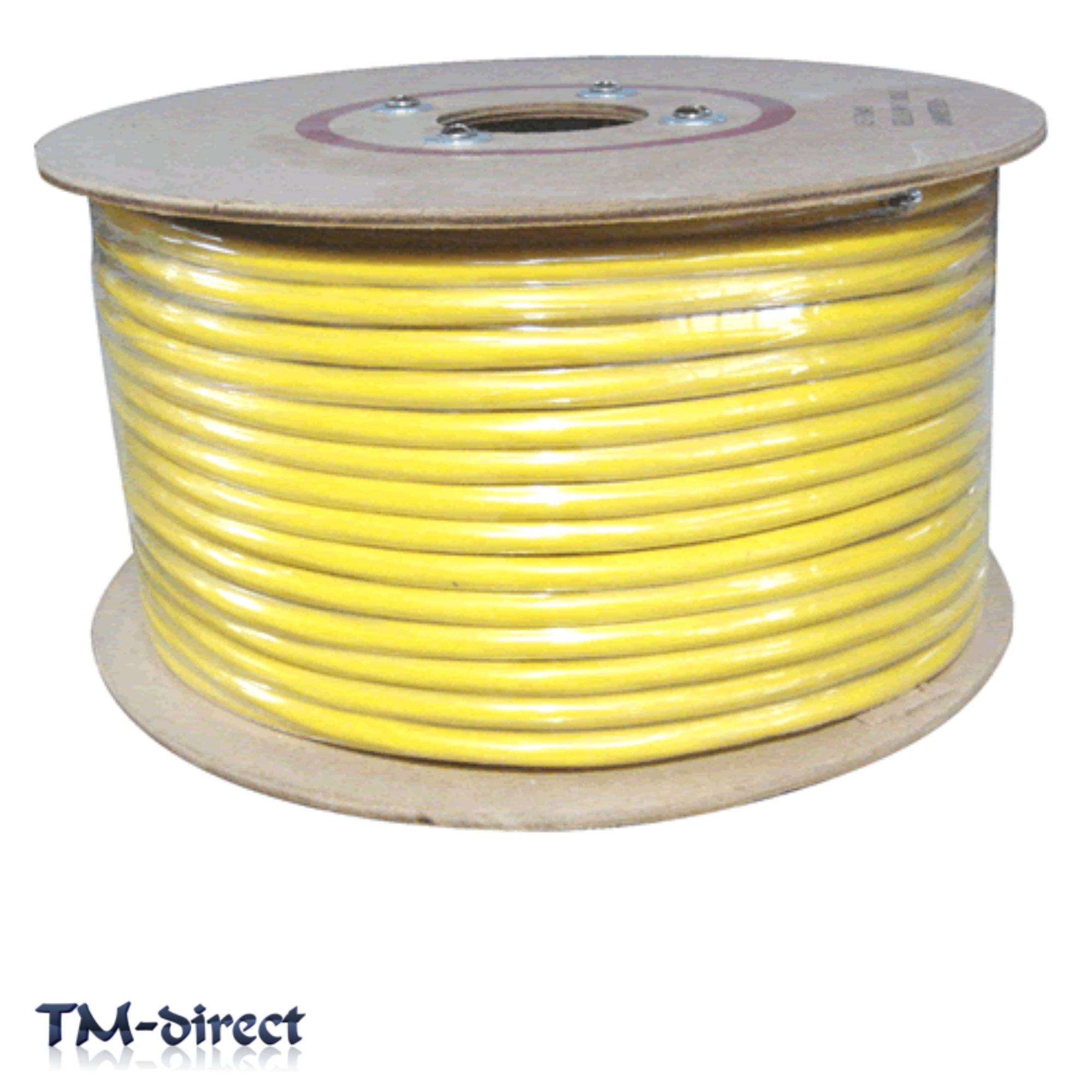 3183Y 3 Core 2.5mm Round Arctic Yellow Cable Flex Wire BY THE METER