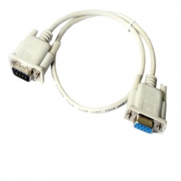 1.5M DB9 RS232 9 Pin Male to Female Straight Extension Modem Serial Cable Lead