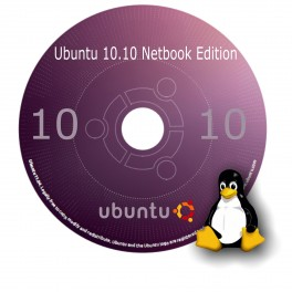 Linux Ubuntu 10.10 Netbook Edition OS Replacement Operating System