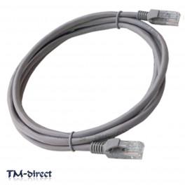 2M Metre CAT 5e Ethernet Network RJ45 Patch Lead Cable - 150535915154 - T - 64035