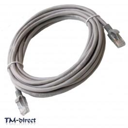 6M Metre CAT 5e Ethernet Network RJ45 Patch Lead Cable - 150536028969 - T - 64035