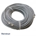 60M Metre CAT 5e Ethernet Network RJ45 Patch Lead Cable - 150637991721 - T - 64035