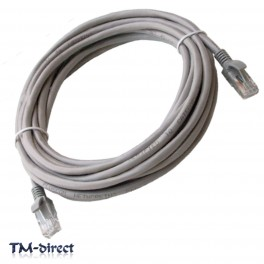 8M Metre CAT 5e Ethernet Network RJ45 Patch Lead Cable - 150536033951 - T - 64035