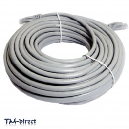 20M Gigabit CAT 6e Ethernet Network RJ45 LAN Lead Cable - 150552000486 - T - 64035