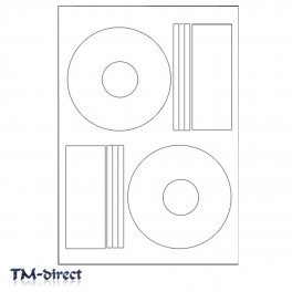 100 Photo Glossy Pressit Style Offset CD DVD Labels - 150650135808 - T - 86728