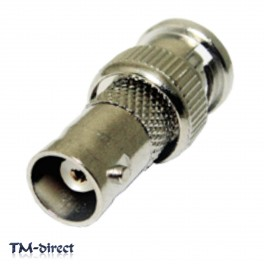 2X BNC Male to Female Coax Coupler Connector Inline Joiner CCTV Adapter - 110936106704 - T - 66738