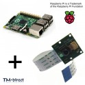 Raspberry Pi Model B+ Board -  512MB RAM Computer + Infrared Camera Module - 151090121699 - T - 162