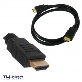 HDMI v1.4 High Speed 1080P 3D Video Lead Premium Cable For Sky HD PS3 XBox TV - 111524567841 - T - 56384